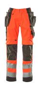 15531-860-14010 Broek met spijkerzakken - hi-vis oranje/donkermarine