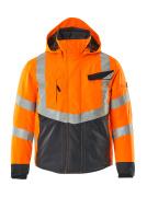 15535-231-14010 Winterjack - hi-vis oranje/donkermarine