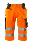 15549-860-1418 Shorts, lange - hi-vis oranje/donkerantraciet