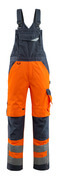 15569-860-14010 Amerikaanse overall met kniezakken - hi-vis oranje/donkermarine