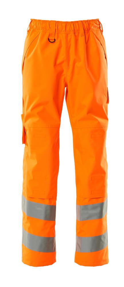15590-231-14 Overtrekbroek met kniezakken - hi-vis oranje