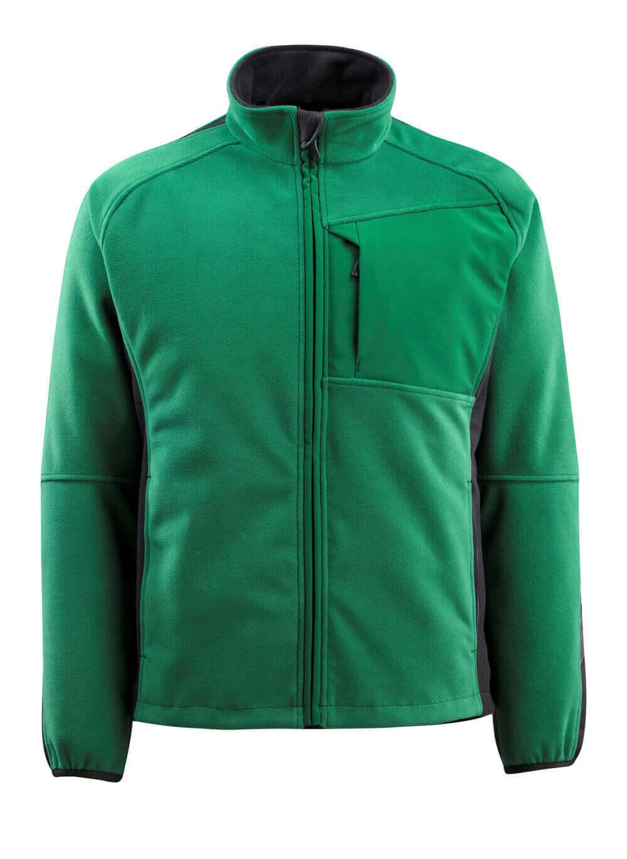 15603-259-0309 Fleecejack - groen/zwart