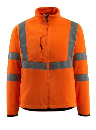 15903-270-14 Fleecejack - hi-vis oranje