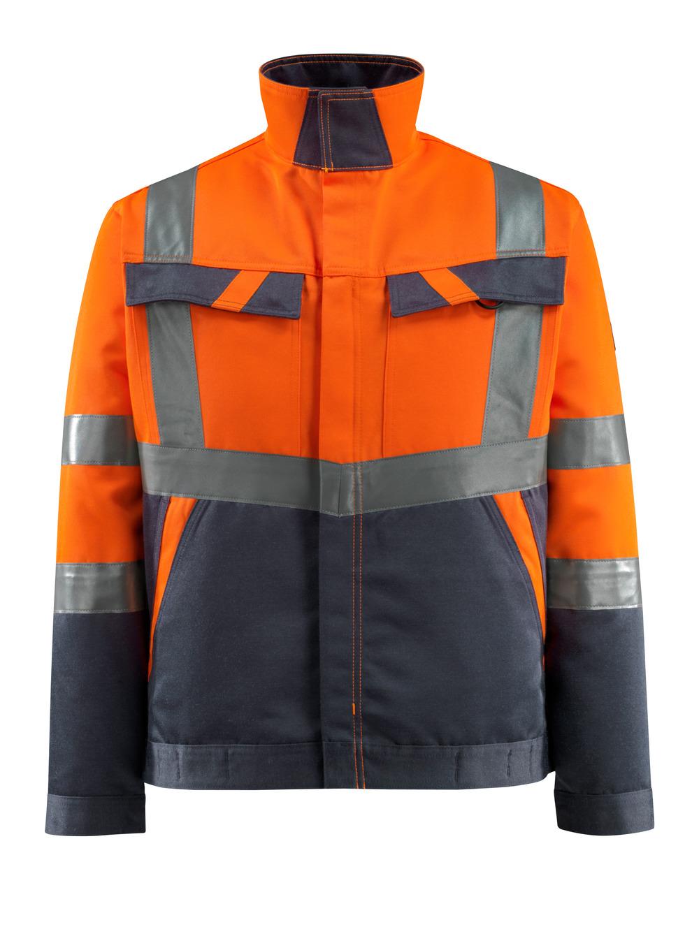 15909-948-14010 Jack - hi-vis oranje/donkermarine