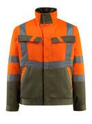 15909-948-1433 Jack - hi-vis oranje/mosgroen