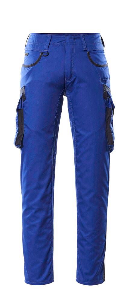16279-230-11010 Broek met dijbeenzakken - korenblauw/donkermarine