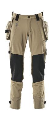 17031-311-010 Broek met knie- en spijkerzakken - donkermarine