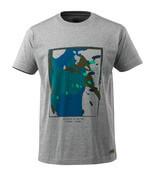 17082-250-08 T-shirt - grijs-melêe
