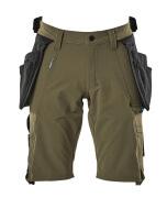 17149-311-33 Shorts - mosgroen
