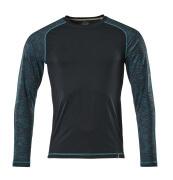 17281-944-010 T-shirt, met lange mouwen - donkermarine