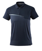 17283-945-010 Poloshirt met borstzak - donkermarine