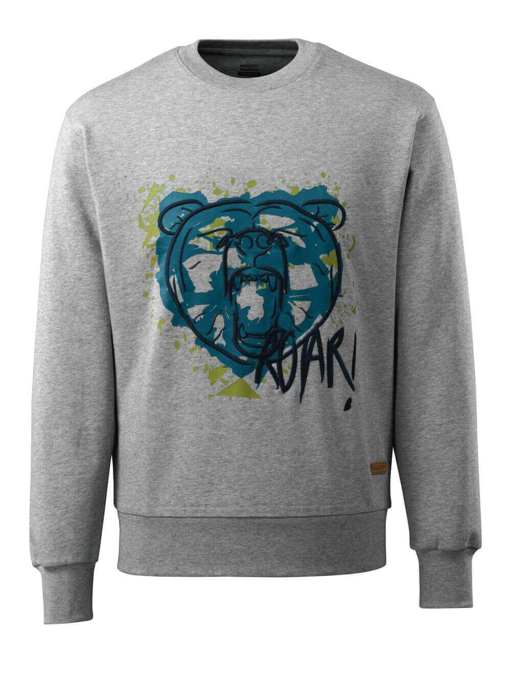 17284-280-08 Sweatshirt - grijs