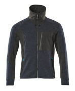 17484-319-01009 Sweatshirt met rits - donkermarine/zwart