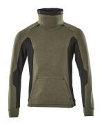 17584-319-3309 Sweatshirt - mosgroen/zwart