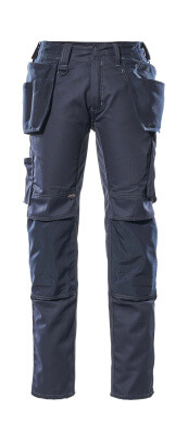 17731-442-010 Broek met knie- en spijkerzakken - donkermarine