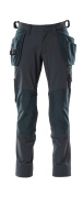 18031-311-010 Broek met spijkerzakken - donkermarine