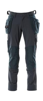18031-311-010 Broek met knie- en spijkerzakken - donkermarine