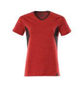 18092-801-20209 T-shirt - signaalrood/zwart