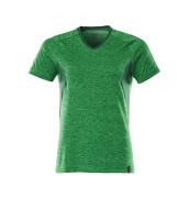 18092-801-33303 T-shirt - helder groen-melêe/groen