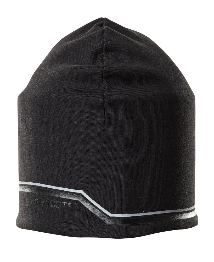 18150-807-09 Gebreide muts - zwart