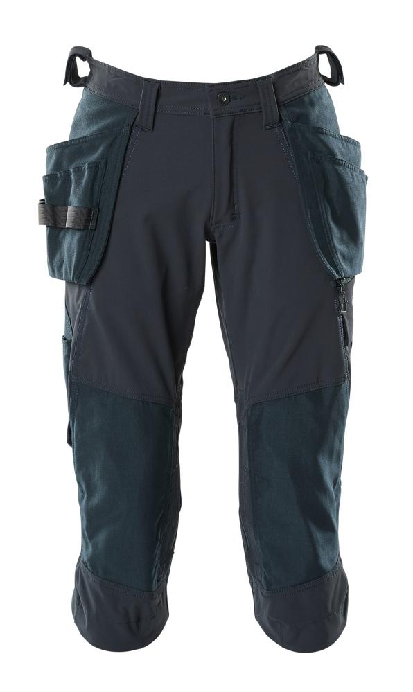 18249-311-010 Driekwart broek met spijkerzakken - donkermarine