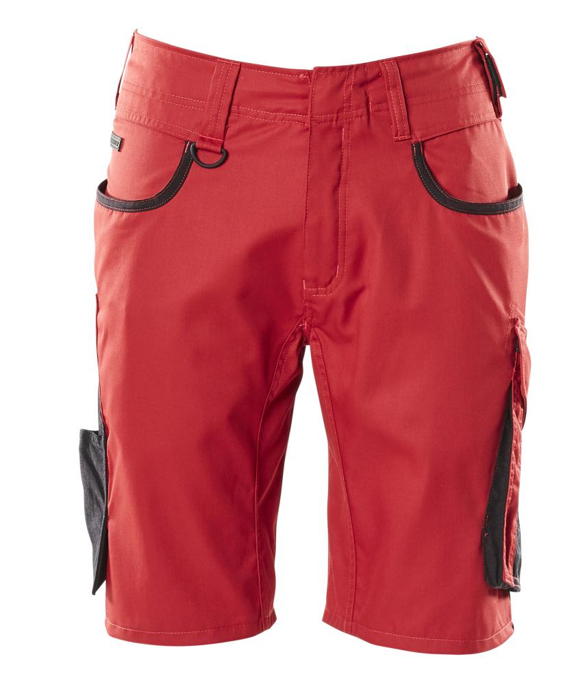 18349-230-0209 Shorts - rood/zwart