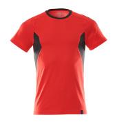 18382-959-01091 T-shirt - donkermarine/helder blauw