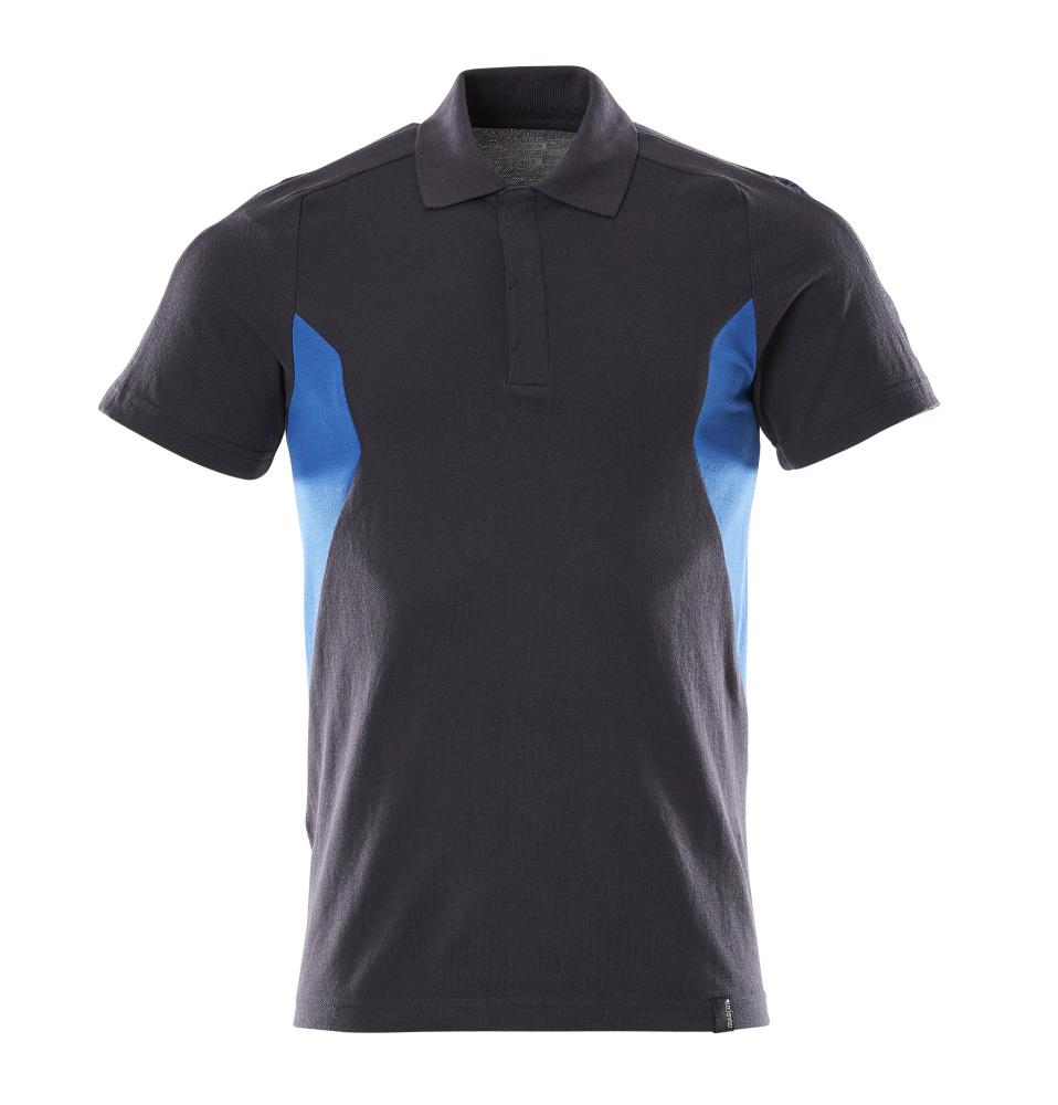 18383-961-01091 Poloshirt - donkermarine/helder blauw