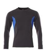 18384-962-01091 Sweatshirt - donkermarine/helder blauw