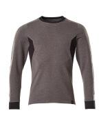 18384-962-1809 Sweatshirt - donkerantraciet/zwart
