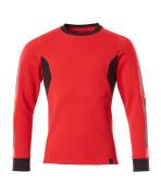 18384-962-20209 Sweatshirt - signaalrood/zwart