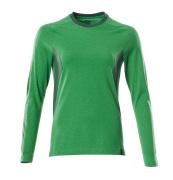 18391-959-33303 T-shirt, met lange mouwen - helder groen/groen