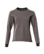 18394-962-1809 Sweatshirt - donkerantraciet/zwart