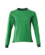 18394-962-33303 Sweatshirt - helder groen/groen