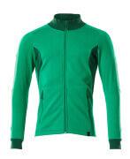 18484-962-33303 Sweatshirt met rits - helder groen/groen