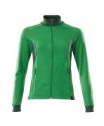 18494-962-33303 Sweatshirt met rits - helder groen/groen