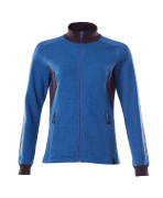 18494-962-01091 Sweatshirt met rits - donkermarine/helder blauw
