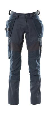 18531-442-010 Broek met knie- en spijkerzakken - donkermarine