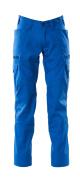 18679-442-91 Broek met dijbeenzakken - helder blauw