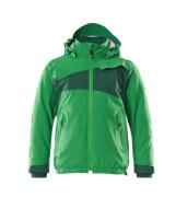 18935-249-33303 Winterjas voor kinderen - helder groen/groen