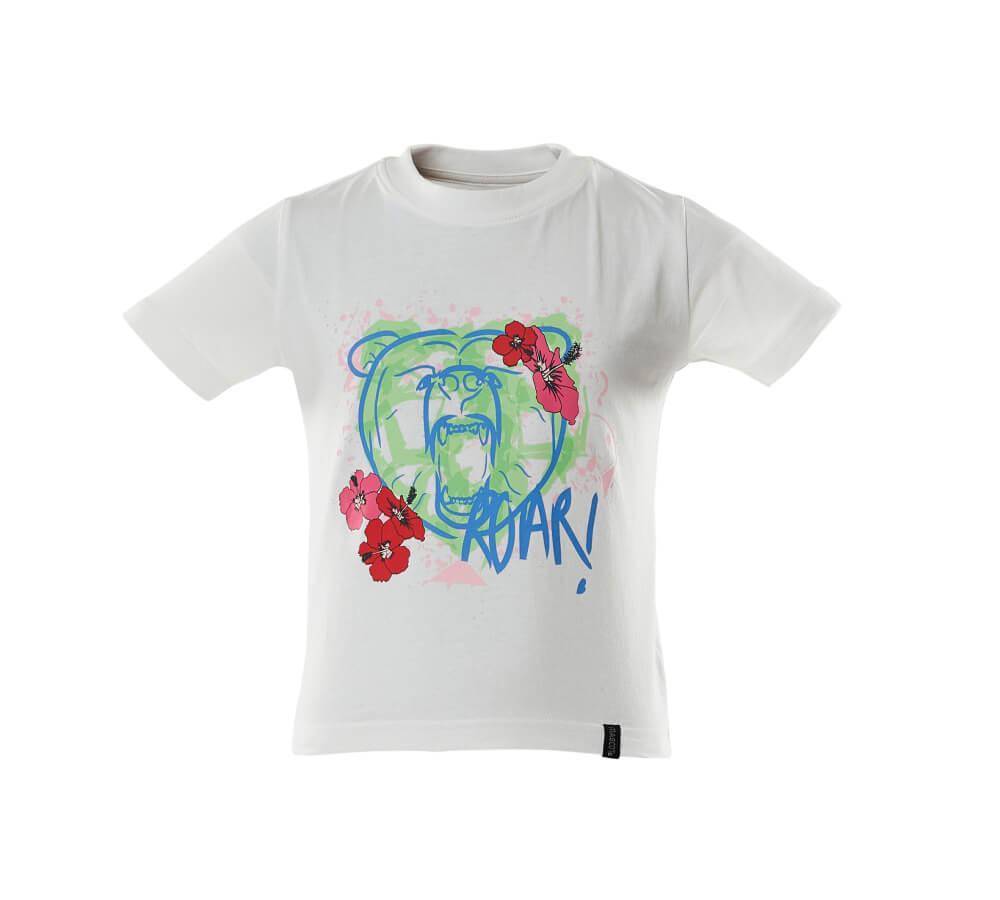 18992-965-06 T-shirts voor kinderen - wit