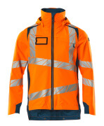 19001-449-1444 Shell jas - hi-vis oranje/donkerpetrol