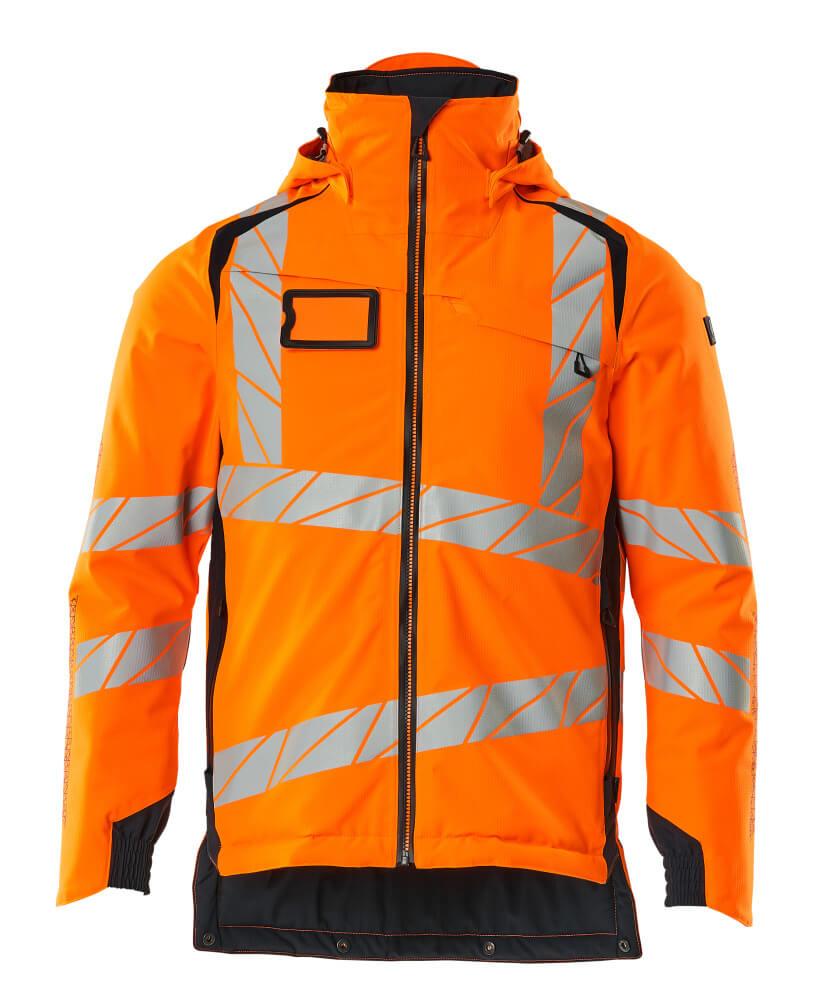 19035-449-14010 Winterjas - hi-vis oranje/donkermarine