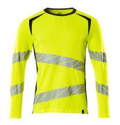 19081-771-14010 T-shirt, met lange mouwen - hi-vis oranje/donkermarine