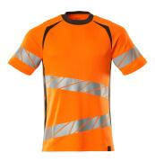19082-771-1418 T-shirt - hi-vis oranje/donkerantraciet