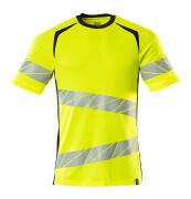 19082-771-1709 T-shirt - hi-vis geel/zwart