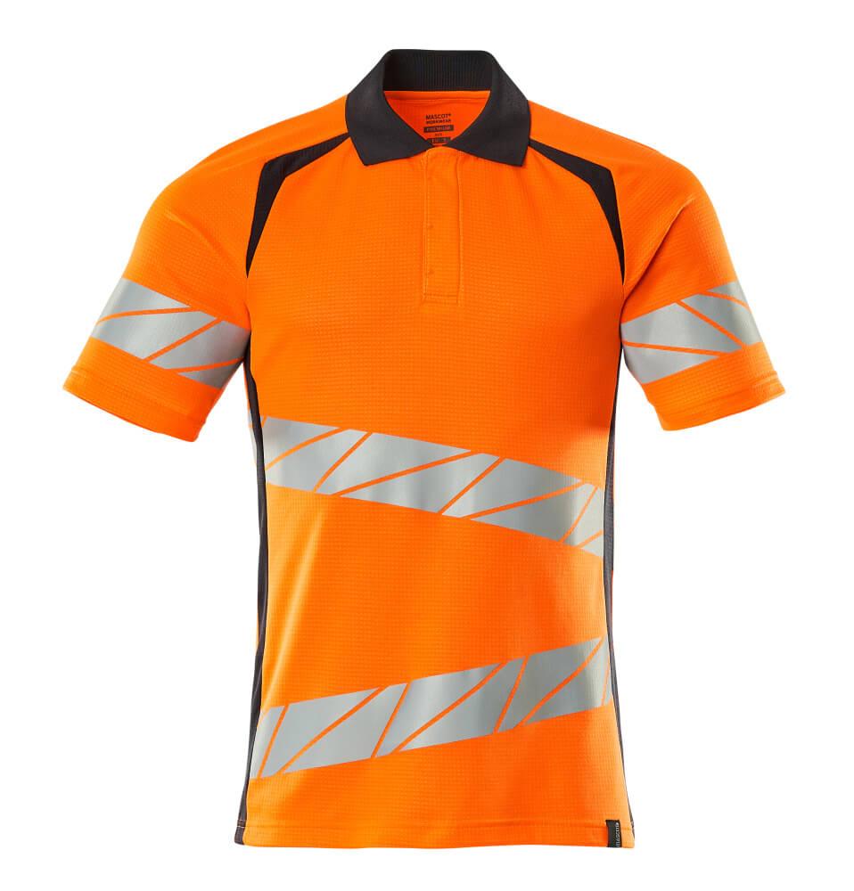 19083-771-14010 Poloshirt - hi-vis oranje/donkermarine