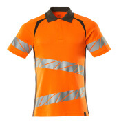 19083-771-1418 Poloshirt - hi-vis oranje/donkerantraciet
