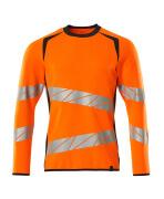 19084-781-14010 Sweatshirt - hi-vis oranje/donkermarine