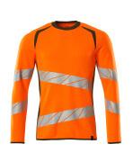 19084-781-1433 Sweatshirt - hi-vis oranje/mosgroen